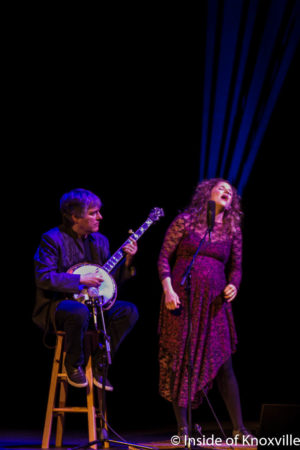 Bela Fleck and Abigail Washburn, Big Ears, Tennessee Theatre, Knoxville, March 2018