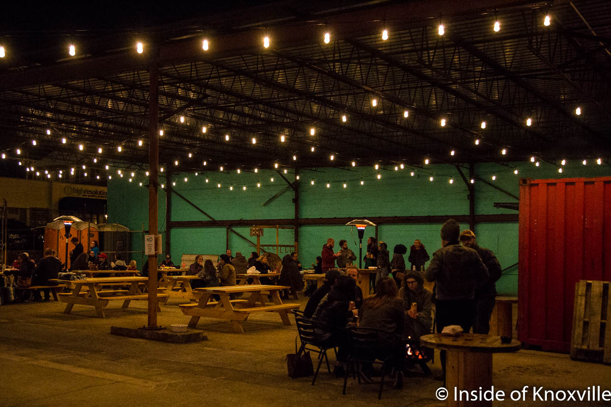 Central Filling Station, Knoxville's Food Truck Park, is Open!