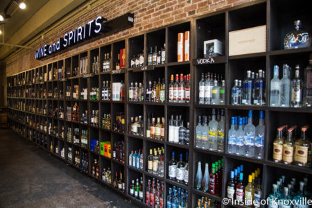 Corks Wine and Spirits, 113 South Central Street, Knoxville, March 2018
