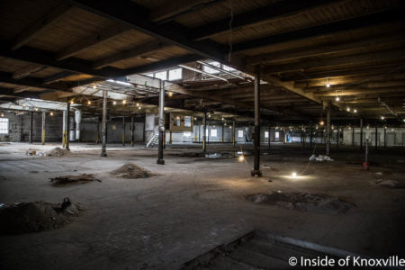 Kerns Building Interior, 2110 Chapman Highway, Knoxville, March 2018