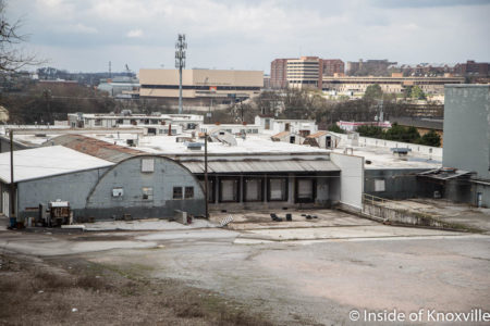 Kerns Building Site, 2110 Chapman Highway, Knoxville, March 2018