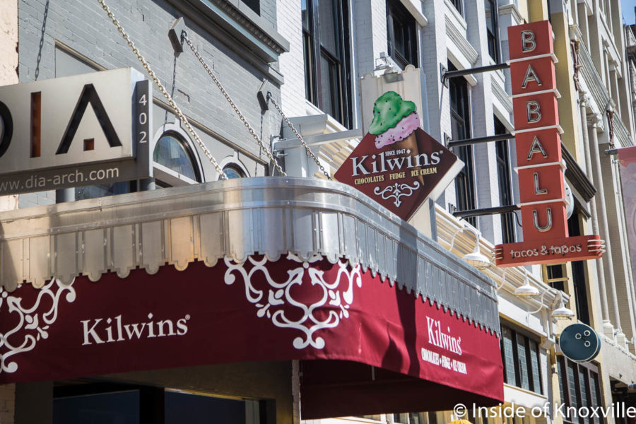 Kilwins, 408 South Gay Street, Knoxville, March 2018