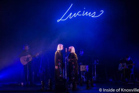 Lucius, Big Ears, The Bijou Theatre, Knoxville, March 2018