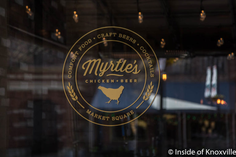 Myrtle's Chicken and Beer, 13 Market Square, Knoxville, March 2018