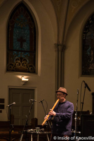 Ned Rothenberg, Big Ears Festival, St. John's Episcopal Cathedral, Knoxville, March 2018