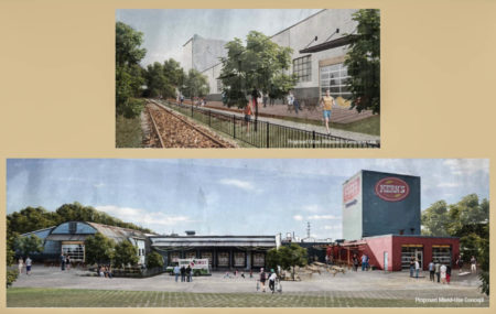 Renderings of the Kerns Building Site, 2110 Chapman Highway, Knoxville, March 2018
