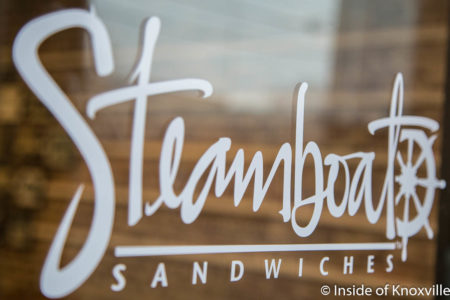 Steamboat Sandwiches, 2423 N. Central Street, Knoxville, March 2018