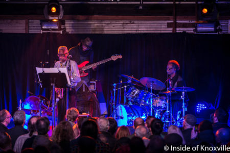 Trio Five Featuring Roscoe Mitchell, Junius Paul and Vincent Davis, Big Ears Festival, The Standard, Knoxville, March 2018