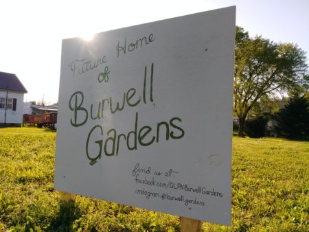 Future Home of Burwell Gardens, 131 East Burwell, Knoxville, April 2018
