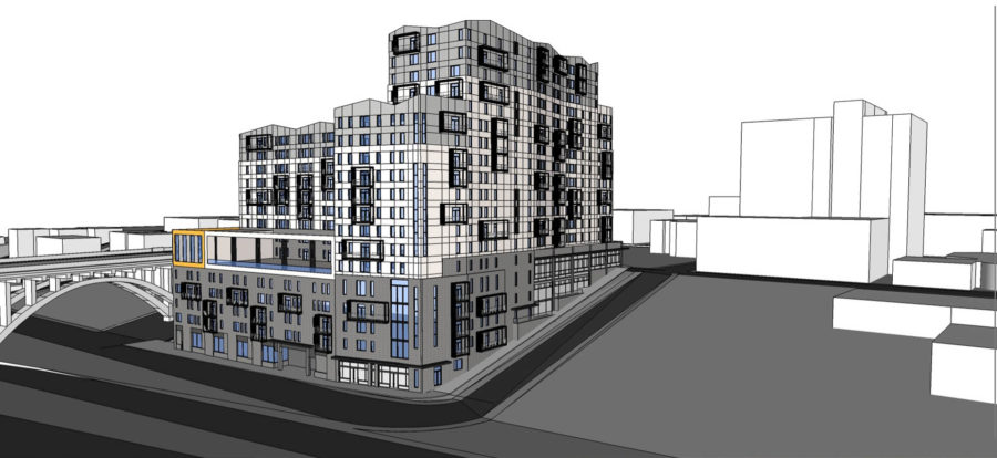 Nineteen Story Apartment Building Planned for North Waterfront
