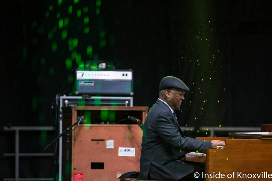 Booker T. Jones, Cripple Creek Stage, Rhythm n Blooms, Knoxville, April 2018