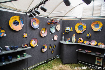 Dogwood Arts Festival, Market Square, Knoxville, April 2018