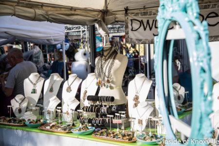 Dwyer Designs, Dogwood Arts Festival, Market Square, Knoxville, April 2018