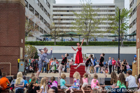 Go! Contemporary Dance Works, Rossini Festival, Knoxville, April 2018