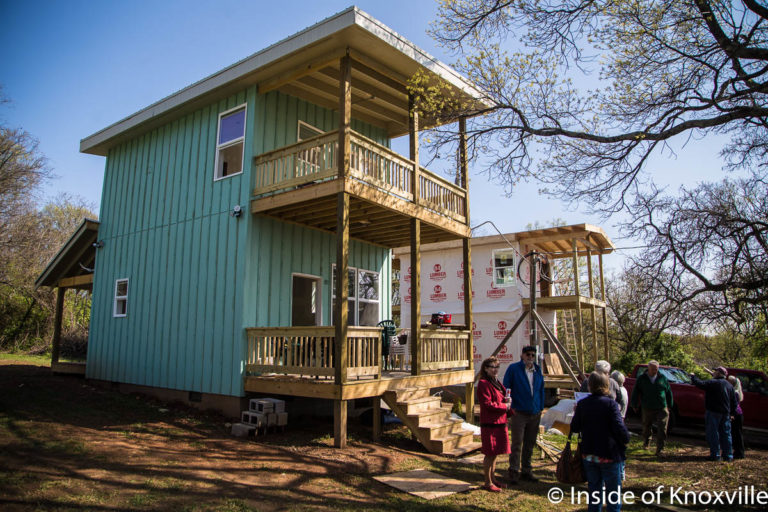Homes at Richmond Orchard, Richmond and McTeer, Knoxville, April 2018