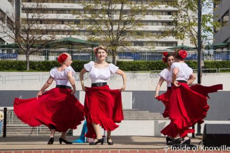 Tinadre Spanish Dancers, Rossini Festival, Knoxville, April 2018