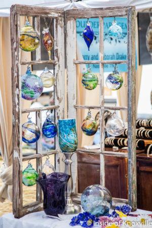 Marble City Glassworks, Dogwood Arts Festival, Market Square, Knoxville, April 2018