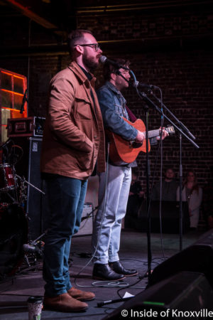 Penny and Sparrow, Jackson Terminal, Rhythm n Blooms, Knoxville, April 2018