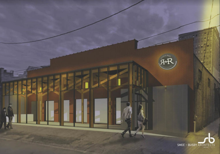 Rendering of the Old City Performing Arts Center (Courtesy Smee and Busby)
