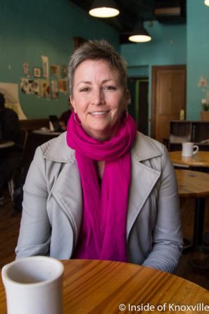 Sherry Jenkins, Dogwood Arts Executive Director, Knoxville, March 2018