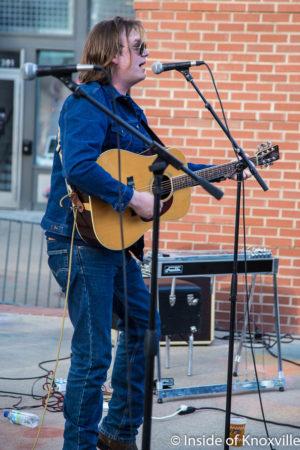 Taylor Corum, Dogwood Arts Festival, Market Square, Knoxville, April 2018
