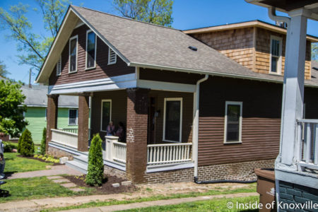1012 Gratz Street, Fourth and Gill Home Tour, Knoxville, April 2018
