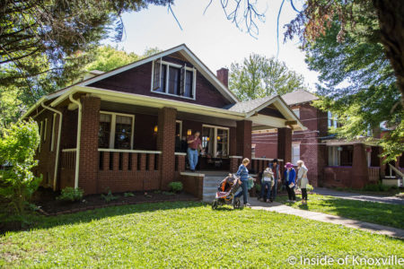 108 East Glenwood Street, Fourth and Gill Home Tour, Knoxville, April 2018
