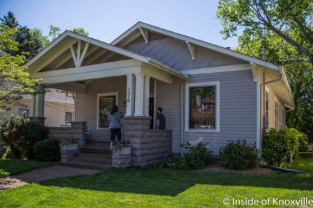 1219 Luttrell Street, Fourth and Gill Home Tour, Knoxville, April 2018
