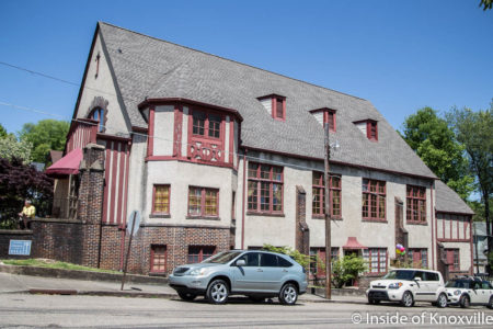 800 Luttrell Street, Fourth and Gill Home Tour, Knoxville, April 2018