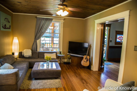 910 Luttrell Street, Fourth and Gill Home Tour, Knoxville, April 2018