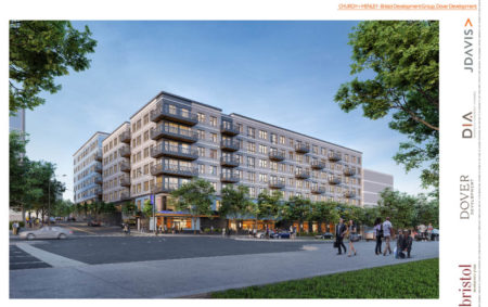 Church and Henley Rendering, Proposed Supreme Court Site Development, Knoxville, April, 2018