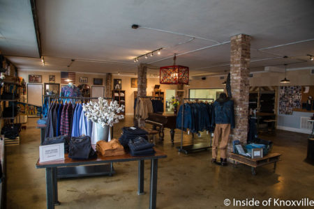 Marc Nelson Jeans, 700 East Depot, Knoxville, May 2018