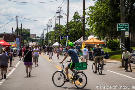 Open Streets, Sevier Avenue, Knoxville, May 2018