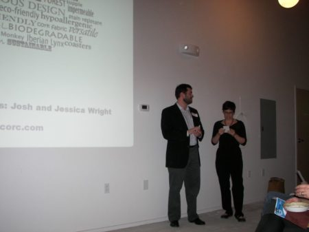 Pechakucha, Josh and Jessica Wright, West Jackson Workshops, Knoxville, February 2011