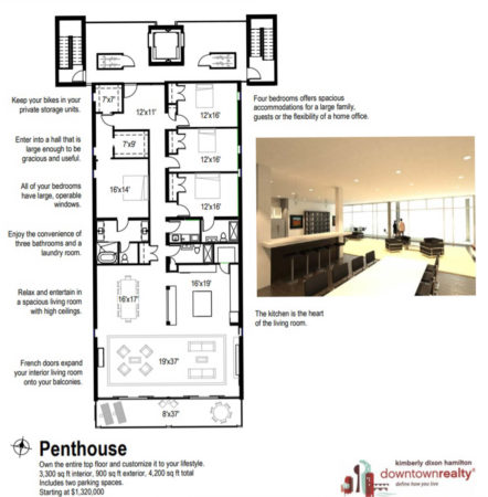 Penthouse Plans for The Overlook