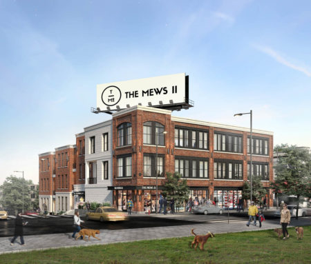 Rendering of Mews II, Magnolia and Ogden, Knoxville, May 2018