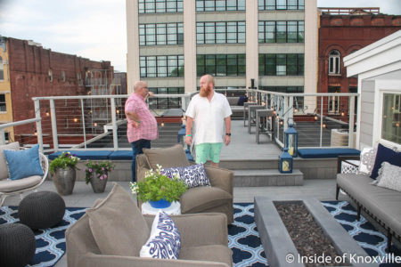 Roof Top Deck, Mill Place, 129 South Gay, Unit 301, Knoxville, May 2018