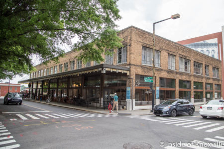 The Daylight Building, 500 Block Union Avenue, Knoxville, May 2018