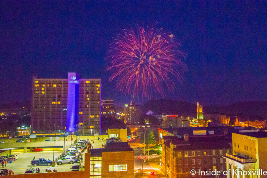 Downtown Knoxville Ten Day Planner (7/8 – 7/17/2018)