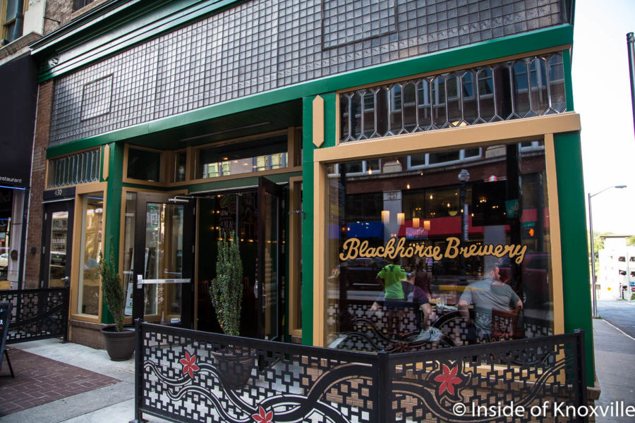 Blackhorse Brewery and Downtown Pub and Cruze Farm Dairy Shop Are Open On Gay Street