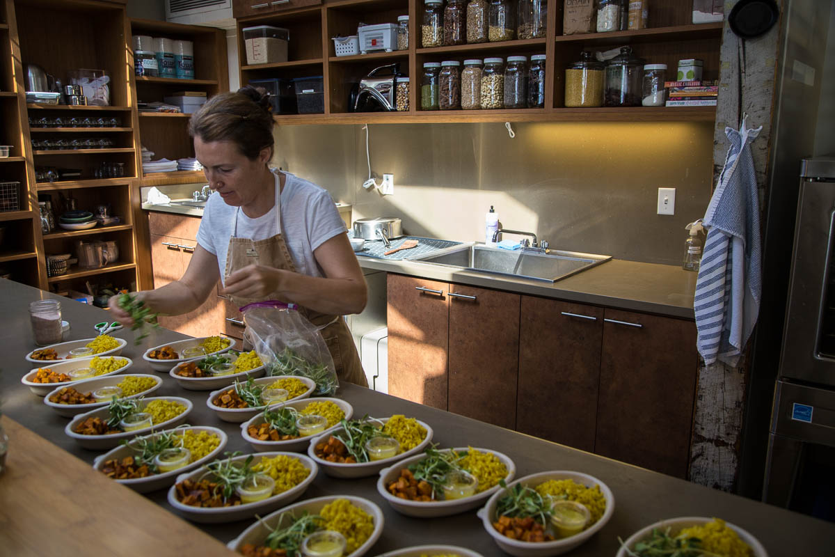 Jenna Baker Serves Up the Healthy and Delicious at Cook to Be Well
