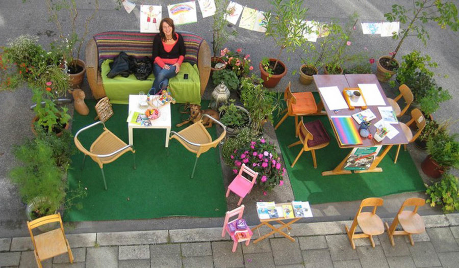 There's Not Enough Parking! Knoxville Celebrates Park(ing) Day