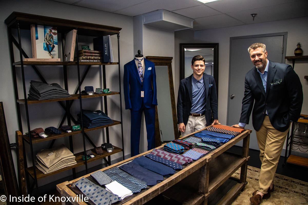 William and Wylie Men's Custom Clothing Store Opens Downtown