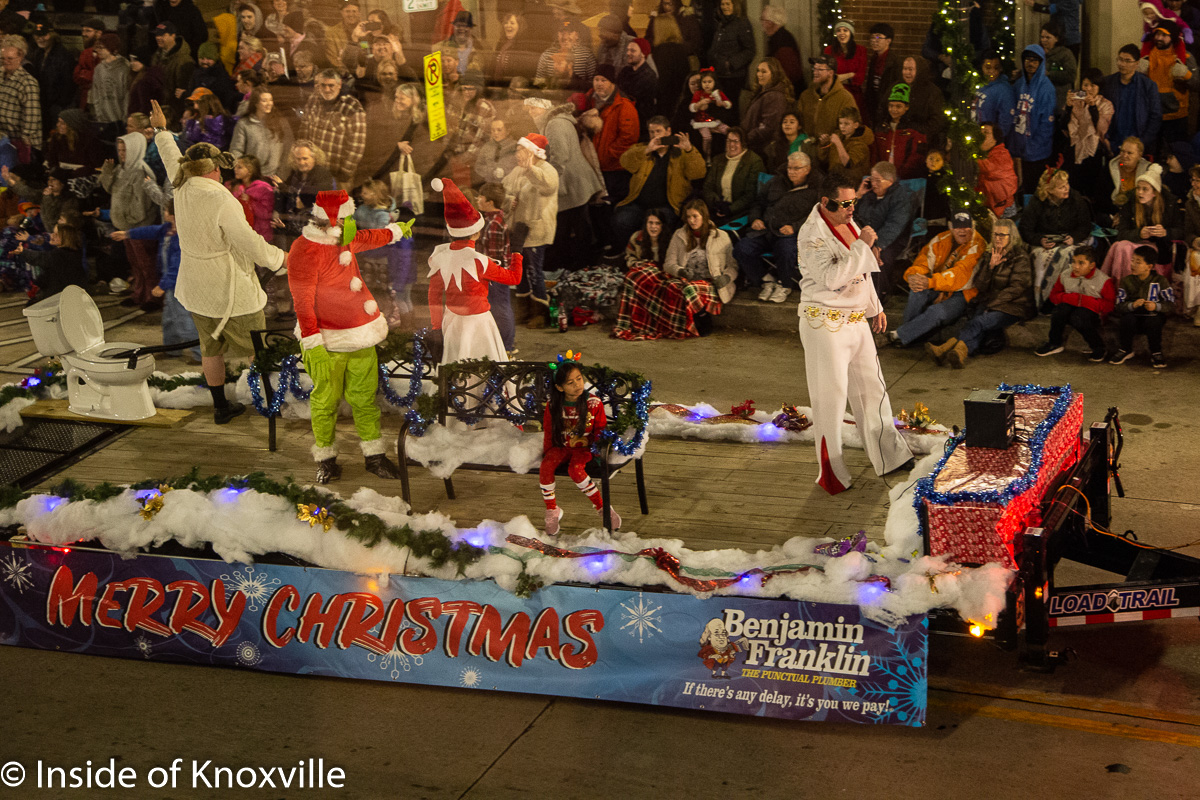 Knoxville Christmas Parade 2020 Knoxville Christmas Parade 2019, Part Two