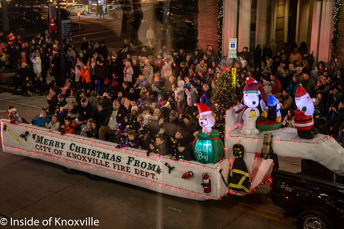 Downtown Knoxville Christmas Parade 2021 Knoxville Christmas Parade 2019 Part One Inside Of Knoxville
